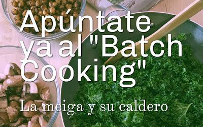 Apúntate Ya al Batch Cooking