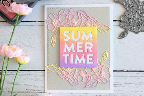 Summer Card + SSS Sending Sunshine BLOG HOP