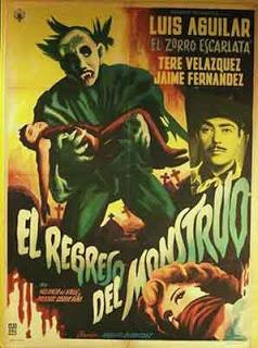 El Regreso del Monstruo, 1959 (Joselito Rodríguez)