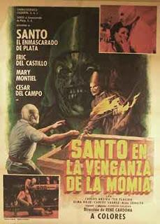 Santo en la Venganza de la Momia, 1971 (René Cardona)