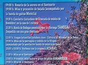 Grandes fiestas Congosto Romería Virgen Peña 2018