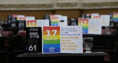 Cordoba. El 17 de mayo es el Día Provincial por la Igualdad