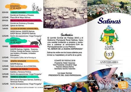Fiestas de Salinas Mayo 2018