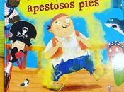 Estás Leyendo:- Album Ilustrado: pirata Pepe apestosos pies. Picarona.