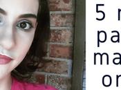 razones para usar maquillaje orgánico ¡tan simple sencillo!