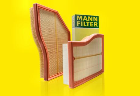 Formas personalizadas de filtro de aire con Flexline de MANN-FILTER