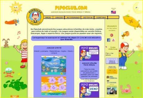 3 Juegos de Pipo para niños de 0 a 3 años