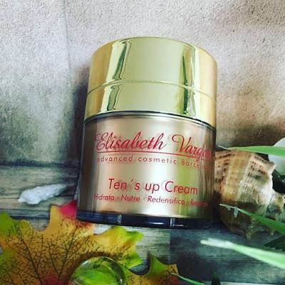 Tens up cream, crema antiedad, antiaging, elisabeth vargas cosmetic, alta cosmética,
