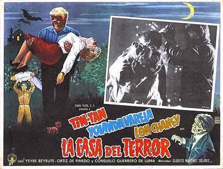 La Casa del Terror una buena muestra del Cine de Terror Mexicano