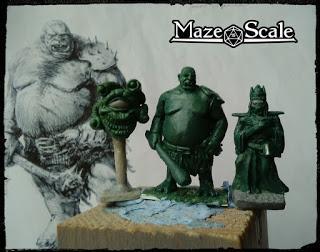 Maze Scale presenta sus miniaturas en el Poney Pisador