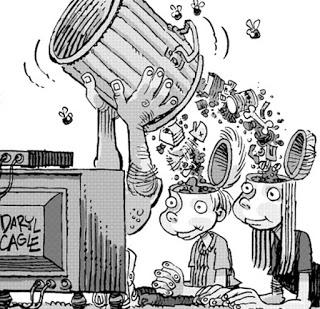 La contaminación en los medios de comunicación
