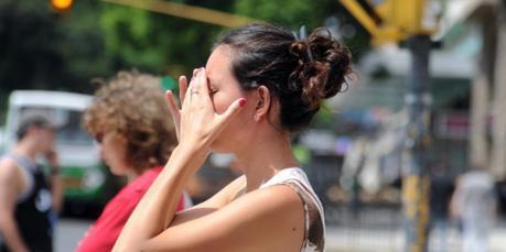 Síntomas de un golpe de calor