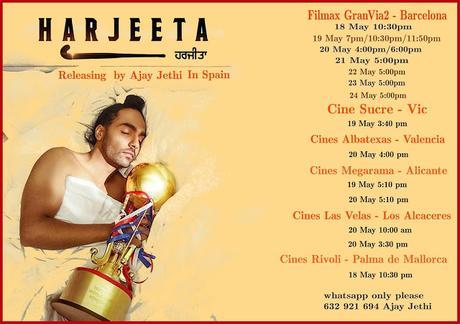 Harjeeta, película punjabi en Barcelona