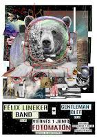 Concierto de Félix Lineker y Gentleman Clef en Fotomatón Bar