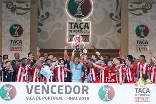 CD Aves es campeón de la Taça de Portugal Placard 2018