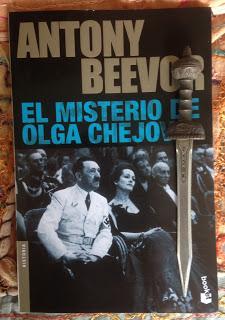 Portada del libro El misterio de Olga Chejova, de Antony Beevor