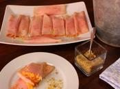 Receta fácil: rollitos jamón cocido vegetales