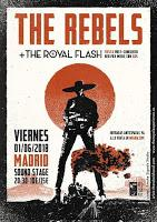 Concierto de The Royal Flash y The Rebels en Sound Stage