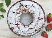 Bizcocho fresas kéfir