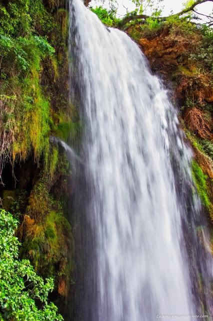 Cascada IrisParque Natural del Monasterio de Piedra