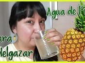 Baja kilos Agua Piña Jengibre