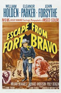 FORT BRAVO (Escape from Fort Bravo) (USA, 1953) Western