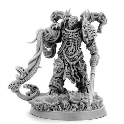 Chaos Eternal Champion y material para Sororitas en Wargame Exclusive