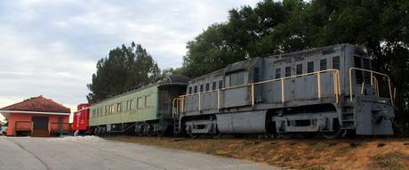 Antigua estación de Lake Wales en la Florida State Road 17 Scenic Hwy