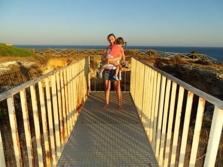 Algar Algarve Portugal mirador agujero Cala Joao Arens