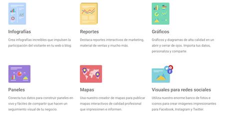 Infogram, la popular herramienta para crear infografías está disponible en español