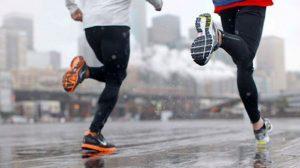 Practicar deporte bajo la lluvia