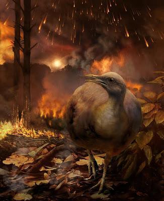 ¿Cómo sobrevivieron las aves al K/Pg?