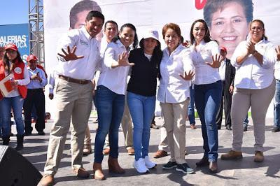 LOS ASPIRANTES A UN PUESTO DE ELECCIÓN POPULAR DEBEN TENER VOCACIÓN DE SERVICIO: ALEJANDRA DEL MORAL