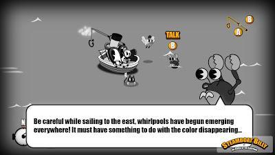 'Steamboat Billy' apela al éxito de 'Cuphead' y lo lleva al terreno de los juegos de rol