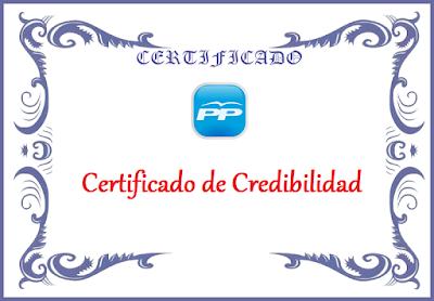 Certificados de credibilidad