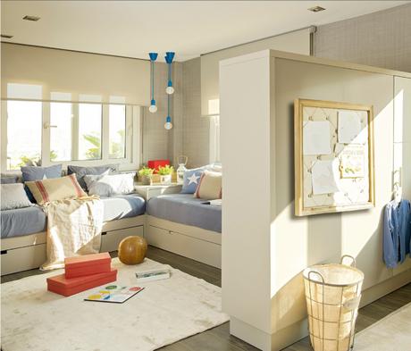 Dormitorios infantiles para dos