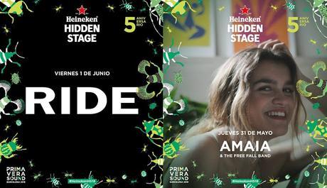 Ride y Amaia de OT, últimas incorporaciones sorpresa del Primavera Sound 2018
