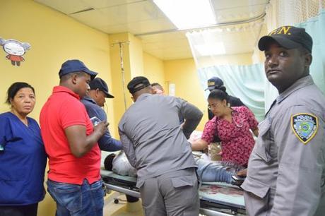 En Barahona matan este domingo a uno de dos asaltaron banca de lotería.