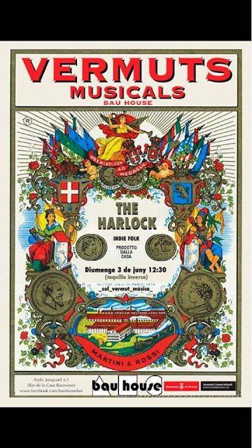 [Noticia] Concierto-vermút de The Harlock en La Casa Baumann de Terrassa