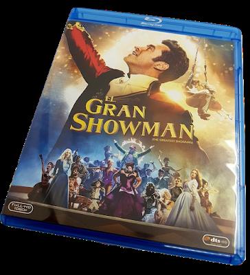 El gran showman análisis edición Bluray