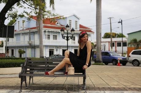 vestido-negro-corto-HM-puerto-plata-republica-dominicana