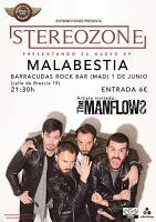 Concierto de Stereozone  y The Manflows en Sala Barracudas