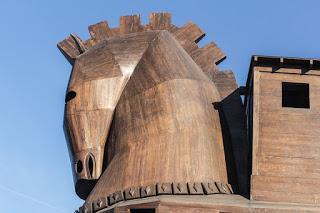 El caballo de Troya, La guerra de Troya, Andrew Lang