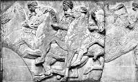 Caballos del friso del Partenón, Estelle M. Hurll