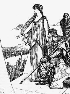 El rapto de Elena de Troya, Andrew Lang