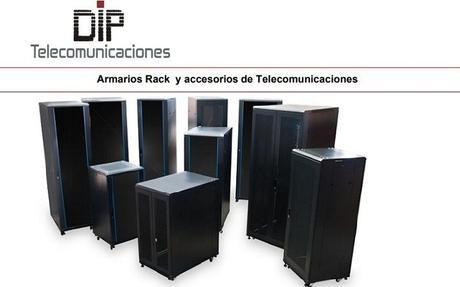 DIP Telecomunicaciones lanza una nueva serie económica de armarios rack de 19 pulgadas y de 10 pulgadas