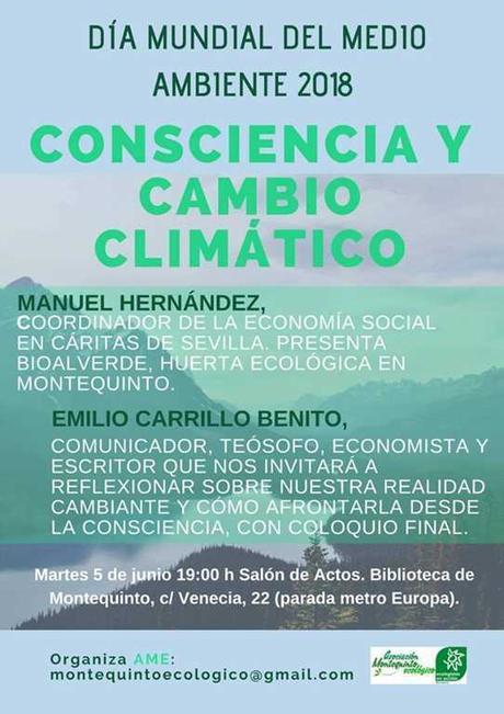 Charla: Consciencia y cambio climático – Día del Medio Ambiente