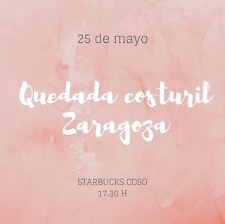Primera 'Quedada costuril' en Zaragoza