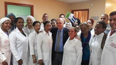 Culminó Ministro de Salud Pública fructífera visita de trabajo a Argelia