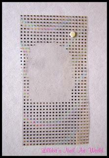Foil holográfico de ondas de puntos de Born Pretty Store